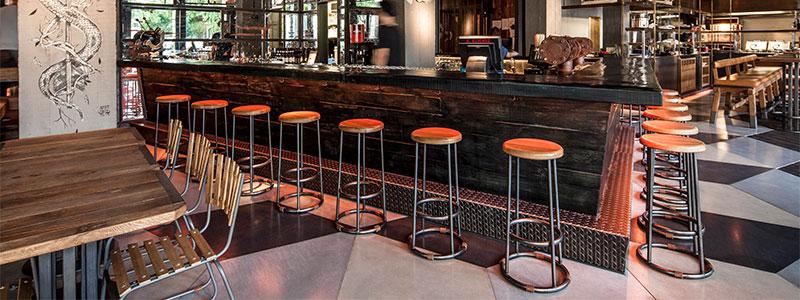 Мебель для баров и кафе в стиле лофт
