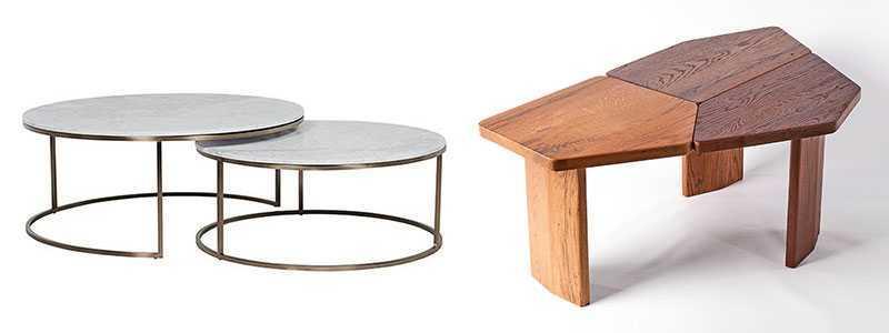 Дизайнерские журнальные и кофейные столики